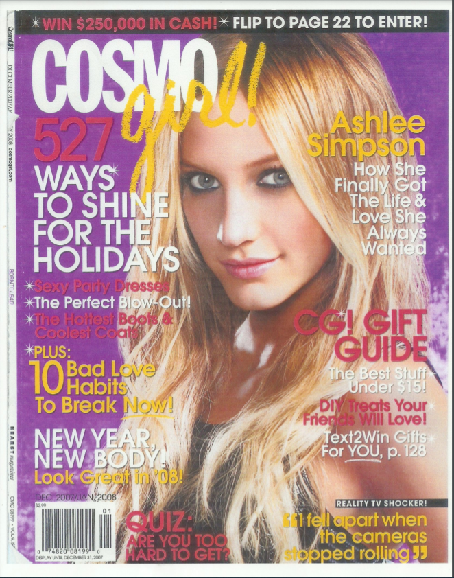 Cover of Cosmogirl