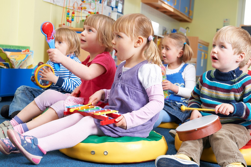 music important for children